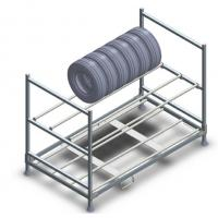 Quality Industrial Metal Shelf System Warehouse Tire Storage Stacking Rack for sale