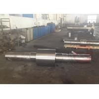 Wholesale 100 Ton Wheel Shaft Open Die Free Forging Mining Machinery Parts , Stainless Steel from china suppliers