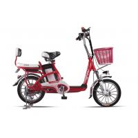 Wholesale Lady , Students Lithium Bicycle Small Electric Bikes With Removable Battery Box from china suppliers
