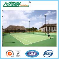 Wholesale Acrylic Tennis Court Surface Outdoor Flooring Customized High Wearing Resistance from china suppliers