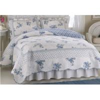Wholesale Printed Patchwork Queen Quilt Bedding Sets With Twill Style For Adult from china suppliers