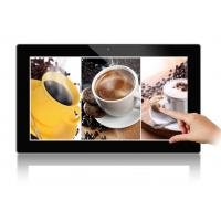 Wholesale Black 18.5 Inch Wide Viewing Angle Touch Screen Digital Photo Frame 350cd/m2 from china suppliers