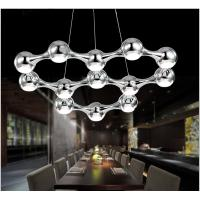 Wholesale Modern Black Silver Suspension Hanging LED Chandelier from china suppliers