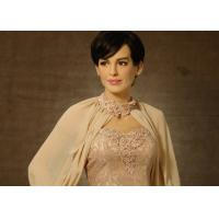 Wholesale Museum Life Size  Celebrity Wax Statues Of Anne Hathaway Scuplture from china suppliers