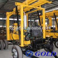 Wholesale 200m Depth Trailer Mounted Hydraulic Core Drill Machine from china suppliers