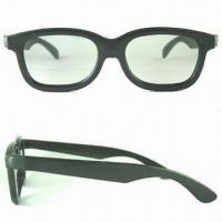 Wholesale Promotional Polarized 3-D Glasses, Various Frame Colors are Available from china suppliers