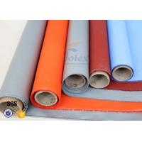 Wholesale Plain Weave Thermal Insulation Materials Silicone Coated Fiberglass Fabric from china suppliers