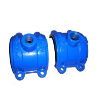 Wholesale ISO Casting Ductile Iron Saddle Tee Without Flange 300psi DN80 to DN2000 from china suppliers