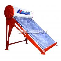 Wholesale 180L with 45° support color steel unpressurized white solar boiler from china suppliers