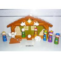 Buy cheap Holiday & Christmas gifts, decorations, hot sale wooden nativity sets, promotional gifts from wholesalers