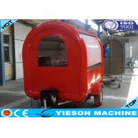 Wholesale Fiberglass Colorful Mobile Kitchen Concession Trailer Food Catering Trucks from china suppliers