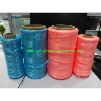 Wholesale UV Treated High Tenacity Polypropylene Twine , Poly Baler Twine  Blue Red Color from china suppliers