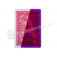 Wholesale Gambling Spain Fournier 2818 Invisible Marked Playing Cards For Poker Games from china suppliers