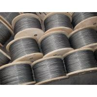 Wholesale Heat-treated Galvanized steel Crane Wire Rope , 1*7 Dia 1.5mm from china suppliers