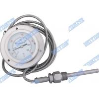 Wholesale Gas filled Bimetallic Thermometer with capillary , industrial  bimetallic temperature gauge from china suppliers