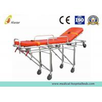 Wholesale Aluminum Alloy Folding Hospital Ambulance Stretcher Trolley Automatic Loading Stretcher ALS-S006 from china suppliers