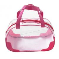 Wholesale PVC Transparent Clear Plastic Pouch Travel Makeup Toiletry Zipper Cosmetic Bag from china suppliers
