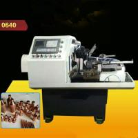 Wholesale Safe Hydraunic Lathe Turning Machine , Automatic Pipe Shrink Mouth Machine For Brass Ball Valve from china suppliers