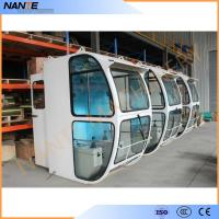 Buy cheap Driver Operator Cold Rolled Steel Overhead Crane Cabin With Head Lamp from wholesalers
