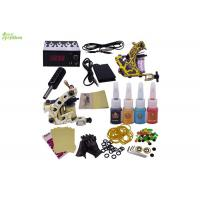 Wholesale Travel Power Supply Starter Tattoo Kits With Practice Skin / Tattoo Beginner Kit from china suppliers