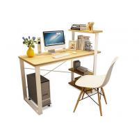 Wholesale Household Office Desktop Computer Desk Bookshelf Combined Learning Table from china suppliers