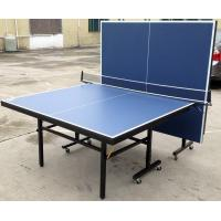 Wholesale Family 2 Folded Movable Indoor Ping Pong Table MDF With Painted Table Top from china suppliers