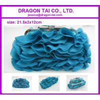 Wholesale Evening clutch bags, Chiffon clutch bags for lady , measure 21.5*2*12cm from china suppliers