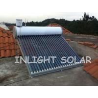 Wholesale 24 Tubes Color Steel Non Pressurized Solar Water Heater Vacuum Glass Tubes For Home from china suppliers