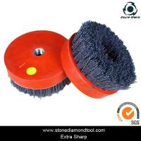 Wholesale stone metal diamond abrasive brush/ floor strippingand cleaning brushes from china suppliers