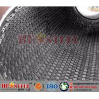 refractory hex mesh with bonding hole