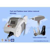 Wholesale Mini Portable Nd Yag Laser Tattoo removal / Q Switch nd yag laser machine from china suppliers