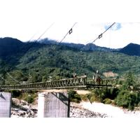 Wholesale Large Span Steel Suspension Cable Stay Bridges With Rock Anchors from china suppliers