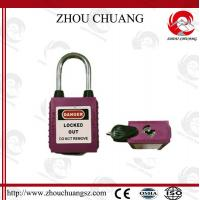 Wholesale 38mm Steel Shackle Safety Dustproof  Padlock with more color from china suppliers