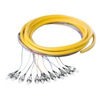 Wholesale Fiber Optic Pigtail 12 core trunk cable type pigtail from china suppliers