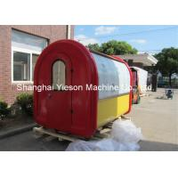 Wholesale Stainless Steel Food Cart Hot Dog Vending Beverage Carts Concession Kiosk from china suppliers