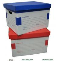 Wholesale Excellent Cardboard Packaging Boxes / Varnish Archive Box from china suppliers