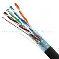 Wholesale Black 4P Exterior Grade UTP Outdoor Cat5e Cable 100MHz Fire Resistant from china suppliers