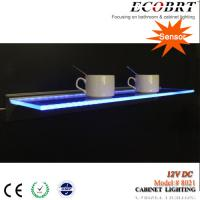 Wholesale ECOBRT-12V DC LED Glass Holder shelf lighting cabinet decoration light 600mm long (8021) from china suppliers