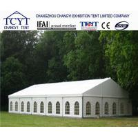 Wholesale Family Camping Commercial Party Tent , Clear Roof Wedding Tent With Large Aluminium Frame from china suppliers