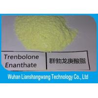Wholesale Trenbolone Enanthate Anabolic Androgenic Steroids yellow crystalline powder C25H34O3 from china suppliers