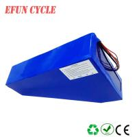 Wholesale For beach cruiser ebike 60V 28Ah Lithium ion triangle battery down tube rechargeable battery from china suppliers
