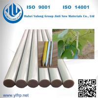 Wholesale Fiberglass Pultruded FRP Rod/Bar fence posts fiberglass nursery stake FRP profile from china suppliers