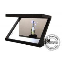 """Wholesale 10.1""""-84"""" Transparent 3D Holographic Showcase , Holographic Projector for Product Promotion from china suppliers"""