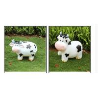 Wholesale Polyresin cute Cow Garden Decoration  recycling materials from china suppliers