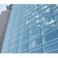 Wholesale Double Glazed Unitized Glass Curtain Wall with 8mm+12A+8mm coated glass from china suppliers