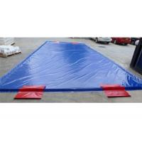 Wholesale Special Inflatable Car Wash Mat Superior Soft PVC Tarpaulin from china suppliers