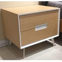 Wholesale Metal supporting leg storage cabinet, wood structure wtih 2 drawers from china suppliers