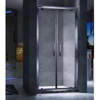 Wholesale Double Frameless Sliding Door Shower Enclosures Magnetic Strips Sealing from china suppliers