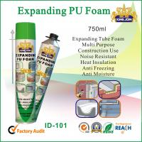 Wholesale Eco-Friendly Pu Foam Sealant , High Density Polyurethane Foam Spray Insulation from china suppliers
