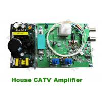 Wholesale Good Quality Indoor House CATV Amplifier booster with Philps Amplifier Module bi-direction return path from china suppliers
